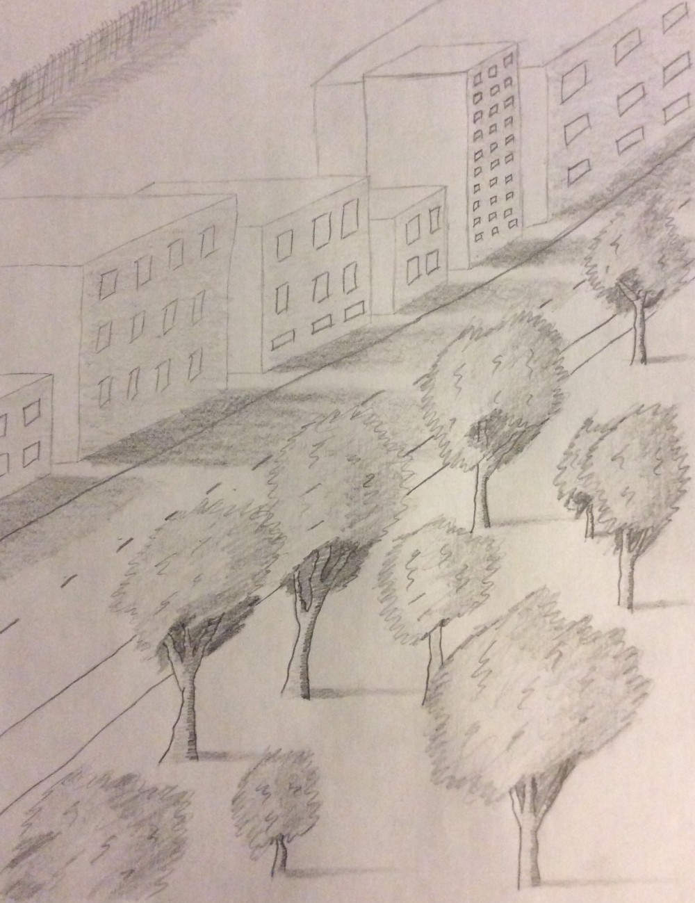 Drawing No. 16 – Park in the City